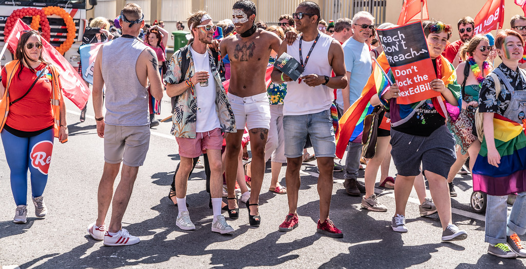 ABOUT SIXTY THOUSAND TOOK PART IN THE DUBLIN LGBTI+ PARADE TODAY[ SATURDAY 30 JUNE 2018] X-100214