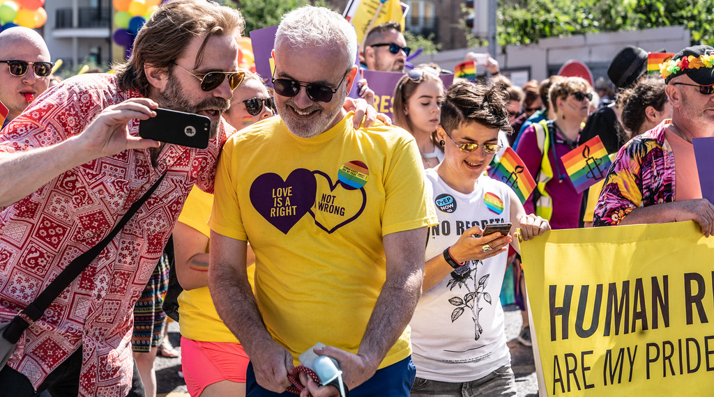 ABOUT SIXTY THOUSAND TOOK PART IN THE DUBLIN LGBTI+ PARADE TODAY[ SATURDAY 30 JUNE 2018] X-100254