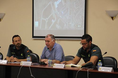 Jornada sobre robos en campo para FF. y CC. de Seguridad. Alberic/L'Alcúdia (27-06-2017)