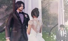 05. Justin & Rini - Her Words (Nora Mae Julian) Tags: secondlife weddings sl marriage love certificate romance people