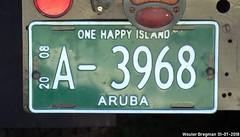 A-3968 (XBXG) Tags: a3968 license plate kenteken plaque immatriculation immat aruba na netherlands antilles antillen concours délégance 2018 paleis het loo apeldoorn nederland holland paysbas