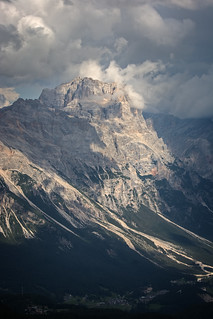 Punta Nera, Punta Sorapis in Sorapis Group, Dolomites / Italia