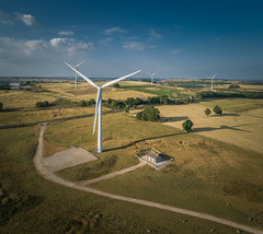 Milling Around (Photo Lab by Ross Farnham) Tags: dji p4 pro derbyshire countryside windmills ross farnham landscape