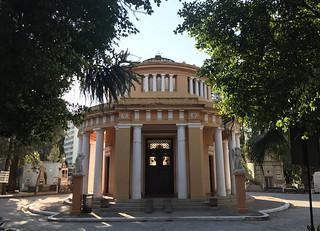 Chapel by Ramos de Azevedo, Consolation Cemetery, São Paulo, Brazil.