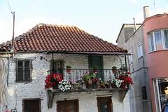 Old House (Khajjit75) Tags: balcony wall window roof flower pot tile cobblestone