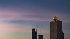 bangkok twilight time (Flutechill) Tags: skyscraper architecture sunset urbanskyline tower cityscape buildingexterior city builtstructure urbanscene sky dusk famousplace downtowndistrict officebuilding night usa outdoors cloudsky tallhigh statetower bangkok thailand