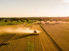 Harvest in Lower Saxony (holgerpommerien) Tags: landwirtschaft claaslexion