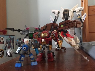 Brick Built Big Boys (mostly WIPs)