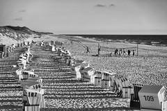 Down by the Beach (g_heyde) Tags: list schleswigholstein deutschland de island sylt beach strand northsea nordsee strandkorb volleyball sl