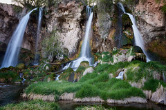 Rifle Falls at Rifle Falls State Park. (Tim Tamlyn) Tags: 2018 colorado nikond810 riflefalls tamlyn timothytamlyn usa falls landscape nature water waterfalls