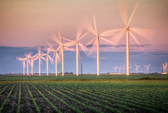 Don Quixote's worst nightmare! (donnieking1811) Tags: indiana wolcott windmills donquixote outdoors sky clouds fields hdr canon 60d lightroom photomatixpro