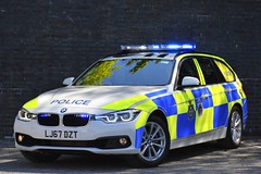 LJ67 DZT (S11 AUN) Tags: durham constabulary bmw 330d 3series xdrive touring anpr police traffic car rpu roads policing unit 999 emergency vehicle lj67dzt