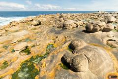 Paramoudras (www.eiderphoto.com) Tags: atlanticocean paramoudras eocenoflysh jaizkibel eiderphoto metabonesiv ef1635 ilce7 sea cantabrico sonya7 landscape sandstone erosion basquecountry
