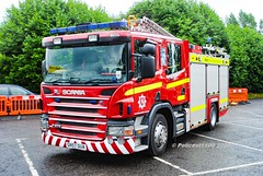 Kent Fire & Rescue Scania P270 GN57 DUA (policest1100) Tags: kent fire rescue scania p270 gn57 dua
