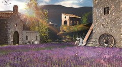 A Walk in Provence (Varosh Santanamiguel) Tags: thechapterfour eventpreview event exclusive gacha rare ultrarare provence toscana lavanda lavendel lavender landscape landschaft simdesign sim simdecor secondlife decorate avatar flowers summer spring news newrelease nevertotallydead areiyon roleplay rollenspiel photoshop photographer fotografie blog blogger bloggerplace photolocation nature secondnature photogenic backdrop photoplace