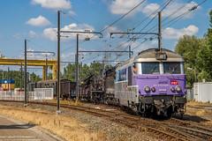 01 juillet 2018 BB 67628 Train 803559 Limoges -> Bordeaux-Hourcade Bordeaux-Hourcade (33) (Anthony Q) Tags: villenavedornon nouvelleaquitaine france 01 juillet 2018 bb 67628 train 803559 limoges bordeauxhourcade 33 bb67400 140c38 cftlp aquitaine acheminement sncf bb67628