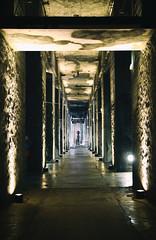 couloir (Base sous-marine Bordeaux) (Weblody) Tags: base sous marine blocos bloc militaire couloir béton bordeaux exposition