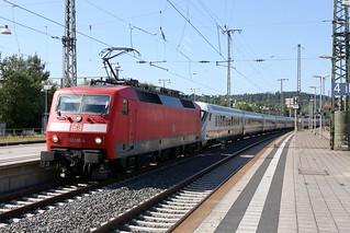 DB 120 133-4 Intercity, Bruchsal