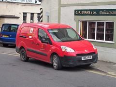 Peugeot Partner (Lost-Albion) Tags: royalmail peugeotpartner kx63pue corwen denbighshire