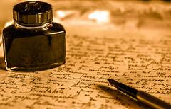 La sagesse de la plume (jérémydavoine) Tags: stylo plume styloplume papier paper encre ink writing écriture pen