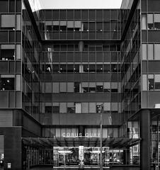 Corus Entertainment, Toronto, Ontario (duaneschermerhorn) Tags: toronto ontario canada city urban downtown architecture building skyscraper structure highrise architect modern contemporary modernarchitecture contemporaryarchitecture black white blackandwhite blackwhite bw noire noir blanc blanco schwartz weiss