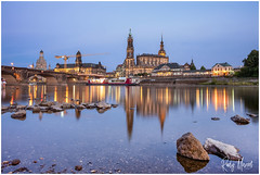 Postcard Greetings From Dresden (RudyMareelPhotography) Tags: dresden elbe germany saxony cityscape sachsen de flickrclickx flickr ngc