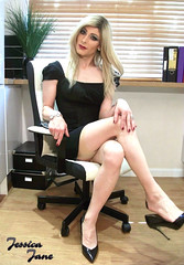 Business Instinct (jessicajane9) Tags: tg crossdresser transvestite cd tgurl lgbt transgender xdress tv crossdressing trans feminization tgirl m2f crossdress tranny stockings