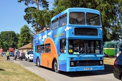 4641 R741XRV (PD3.) Tags: southern vectis volvo olympian northern counties open top topper topless isle wight bus buses psv pcv hampshire hants england uk alton anstey park mid railway watercressline water cress line preserved vintage 15 07 2018 july rally running day