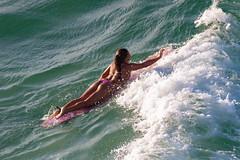 Surfer style (Stig Nygaard) Tags: 2010 50d bolivarianrepublicofvenezuela canonef70300mmf456isusm canoneos50d caribbean caribe creativecommons islademargarita islamargarita margarita margaritaisland newsparta nuevaesparta people photobystignygaard puertofermíneltirano repúblicabolivarianadevenezuela venezuela ïslamargarita southamerica girl beauty surfer surfing surfergirl action sport swimming paddling water sailing sea seaside ocean meer mar swim paddle style elegance playaparguito playapuertoabajo cuw29 ven watersport waves