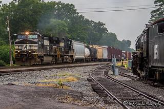 NS 9334 | GE C44-9W | NS Memphis District West End
