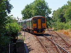 150234 Bere Alston (7) (Marky7890) Tags: gwr 150234 class150 sprinter 2p89 berealston railway devon tamarvalleyline train