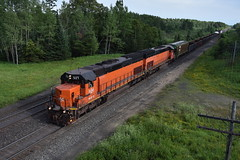 Heading for home (Robby Gragg) Tags: ble sd40t3 907 iron junction