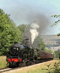 5 and spam can (feroequineologist) Tags: 45212 34092 black5 lms worthvalleyrailway wells kwvr worthvalley railway train steam cityofwells