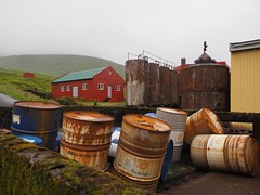 Abandoned Whaling Station, Faroe Islands (Feldore) Tags: við áir whales whaling station abandoned faroe islands old derelict norway norwegian rust rusting feldore mchugh em1 olympus 1240mm tanks