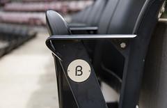 Stadium Seats (milepost430media.com) Tags: stadium baseball field sport athletics game dslr canon 5d markiv seats stands black folded