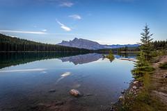 Jacked on Two Jack (Dan Fleury) Tags: alberta improvementdistrictno9 canada ca twojack lake landscape mountain nationalpark banff rundle mtrundle rockies