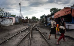 Tamatave (Rod Waddington) Tags: africa african afrique afrika madagascar malagasy tamatave railway tracks lines people outdoor culture cultural ethnic ethnicity women streetphotography