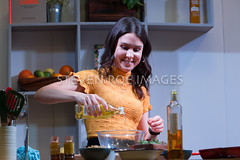 BBC Good Food Show Summer at NEC in Birmingham UK 17th june 2018 (Steven Roe Images) Tags: bbc bbcgoodfoodshow birmingham cookingdemo goodfood kaitlincolucci summerstage uk