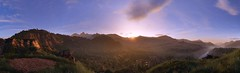 """A wonderful view."" (Xenolith3D) Tags: tom clancys ghost recon wildlands sunset screenshot panorama view mountain grass nature forest nvidia ansel light sky landscape tree colorful peaceful flower bolivia ubisoft"