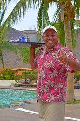 Roberto Around the Pool (Kirt Edblom) Tags: loreto loretomexico mexico islandsofloreto villadelpalmar vacation vdp resort seaofcortez spa wife gaylene milf loriford aroundthepool bcs baja bajacaliforniasur pool swim swimming swimmingpool friends