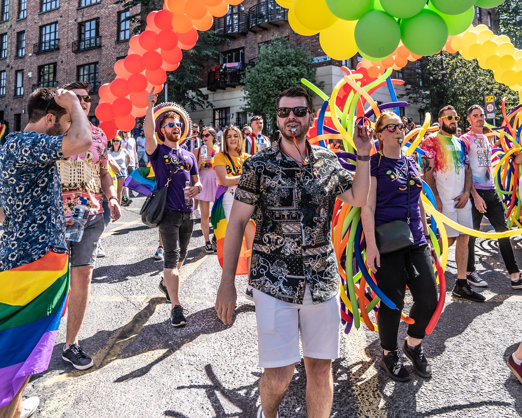 ABOUT SIXTY THOUSAND TOOK PART IN THE DUBLIN LGBTI+ PARADE TODAY[ SATURDAY 30 JUNE 2018] X-100275