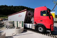LKW-Reifenwaschanlage