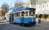 Tram no 1888 Christchurch. (Bernard Spragg) Tags: tramno1888christchurchram streetcar rail blue transoprt city ride christchurch lumix urban street