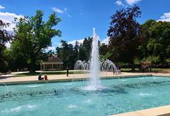 Spa park in Poděbrady. Czech Republic (ZdenHer) Tags: spa park poděbrady czech republic water fountain tree