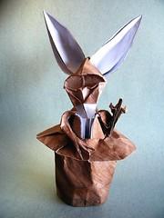 Circus Freak - Sébastien Limet (Rui.Roda) Tags: origami papiroflexia papierfalten lapin rabbit conejo coelho circus freak sébastien limet