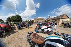 2018-07-14_MMC_web-41 (CarolAnn Photos) Tags: 2018 july mandevillemotorcyclemeet thorpemandeville threeconies bike fisheye motorbike motorcycle england unitedkingdom gb