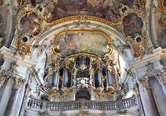 Würzburg: Käppele (zug55) Tags: würzburg käppele organ germany deutschland franconia franken bavaria bayern rokoko rococo wallfahrtskirchemariäheimsuchung christianköhler barock baroque wallfahrtskirche kirche kapelle church chapel balthasarneumann nikolausberg orgel