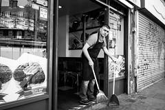 Untitled (Howard Yang Photography) Tags: london camden camdentown falafel bw blackandwhite leicam 28elmarit