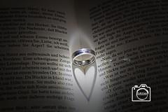 Ehering Herz (DJR-FOTO) Tags: wedding ring heart love book ehe ehering beautiful awesome canon eos 1300d buch liebe amore hochzeit deutschland dortmund djrfoto djr silber silver