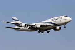 EL  AL  ISRAEL  AIRLINES / Boeing   B 747-400   4X-ELA / LEBL - BCN / juin 2018 (gimbellet) Tags: canon nikon spotting spotter boeing bcn barcelone barcelona elprat lebl planes transport transportation a330 a380 a320 airplanes a340 aviation aircraft avions airbus aeroport airport a350 aeronautique atr airplane aeroplane b747 b747400